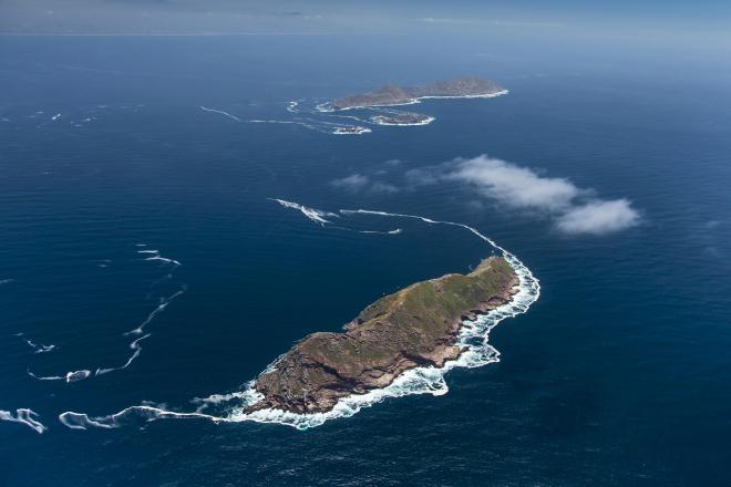 Coronado Islands, offshore of the US-MEXICO border, Pacific Ocean, Baja California, Mexico