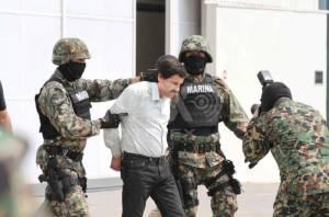 Llevan al  Chapo  a penal del Altiplano, mediante helicóptero