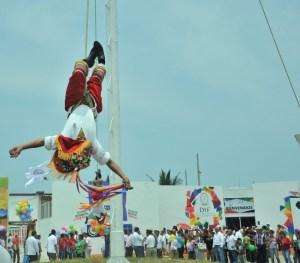 Toda una fiesta cultural y musical en la expo Coatza 2014.