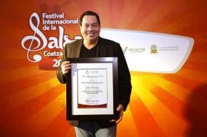 Tito Nieves tuvo un reconocimiento por parte de las autoridades estatales y municipales.