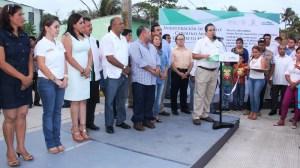 Se invirtieron más de 6.9 millones de pesos en esta administración; es el principio de muchas otras obras más.