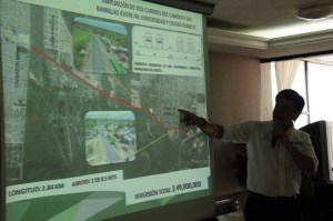 El Secretario de Obras Públicas del Ayuntamiento, Fernando Ramos, presenta el programa de Obras 2014.