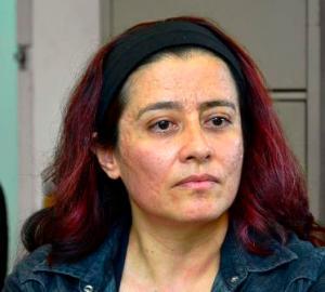 Magali Salas, química de la Unidad de Servicios de Apoyo en Resolución Analítica.