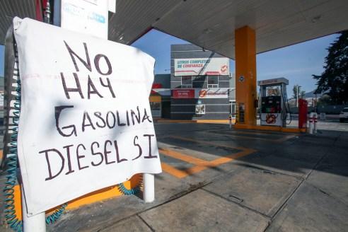 DESABASTO DE GASOLINA EN TOLUCA