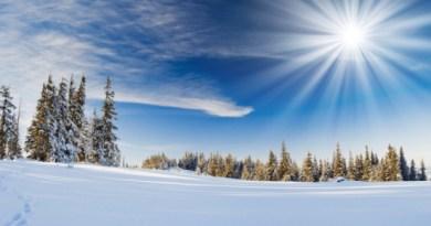 Nieve frío en la Costa Azul