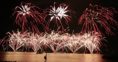 Fuegos artificiales Cannes