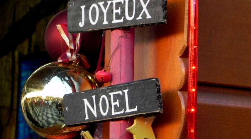 joyeux noel Mercado de Navidad de Niza