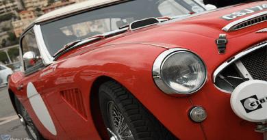 Rallye de clásicos de Montecarlo