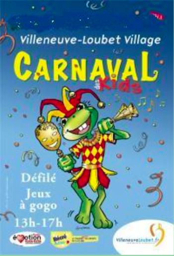 Carnaval Infantil en Villeneuve-Loubet