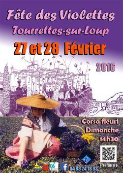 Fiesta Violeta 2016 Tourrettes