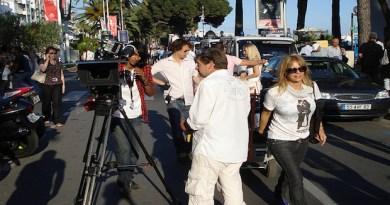 Rodaje ciudad de Cannes