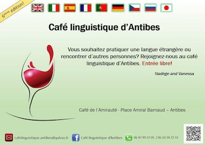 Cafe linguistico Antibes