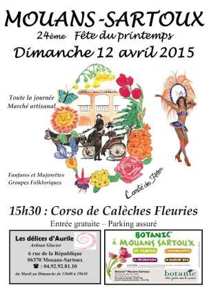 Fiesta de la Primavera 2015 Mouans-Sartoux