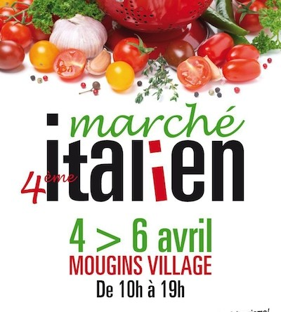 Mercado Italiano en Mougins