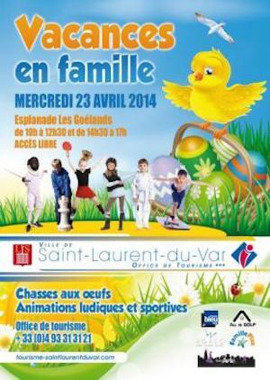Caza Huevos Pascua Saint Laurent du Var