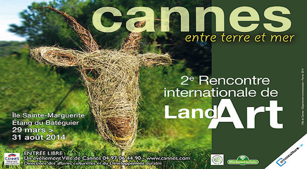 Land Art Cannes 2014
