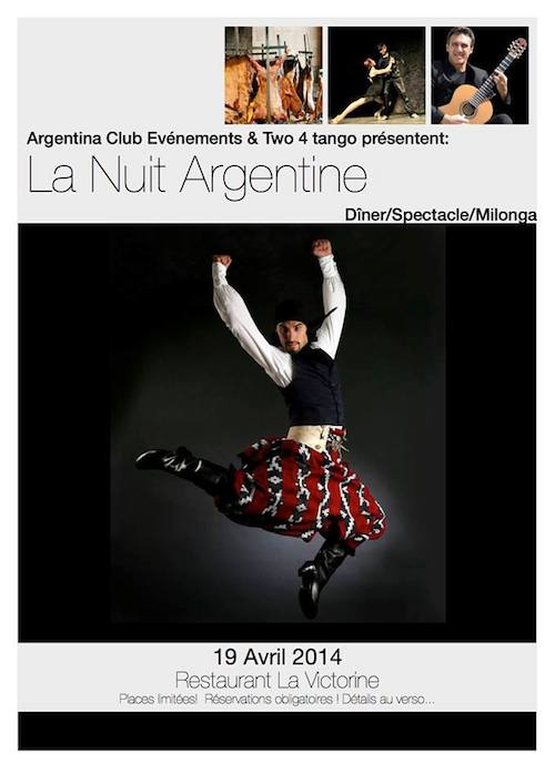 Noche argentina Niza