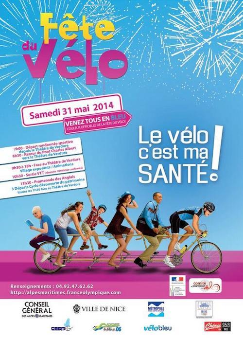 Fiesta de la bicicleta Niza