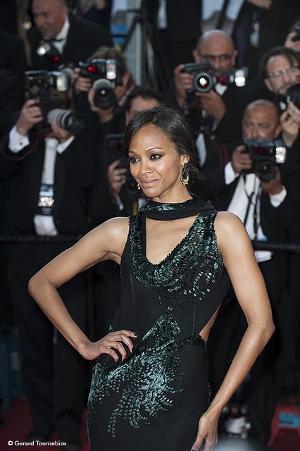 Zoe Saldana Festival de Cannes 2014