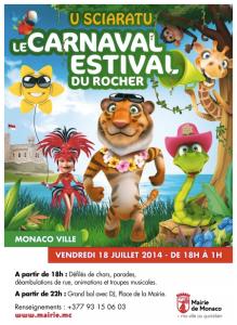 Carnaval verano monaco