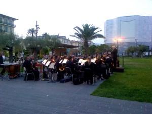 La Filarmónica de Niza en el Paseo Paillon