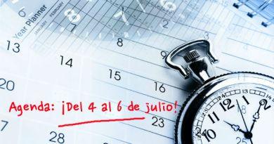 Agenda del 4 al 6 julio Costa Azul