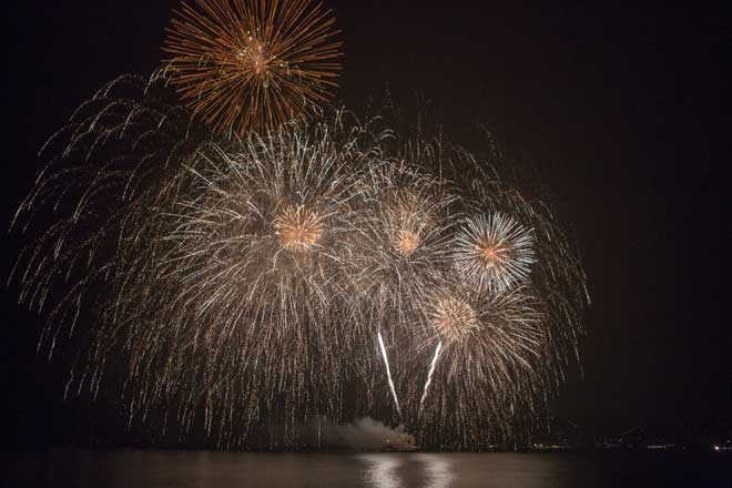 Fuegos de Artificio Antibes