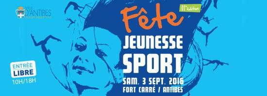 Fiesta juventud deporte Antibes 2016