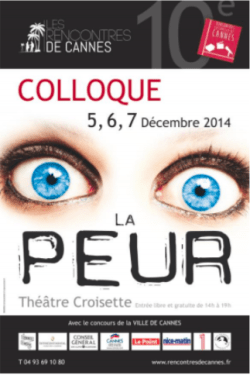 Coloquios Cannes 2014 Miedo