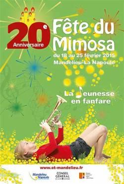 Fiesta de la Mimosa 2015 Mandelieu