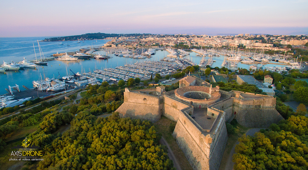 Antibes Fort Carre AxisDrone Vista Dron
