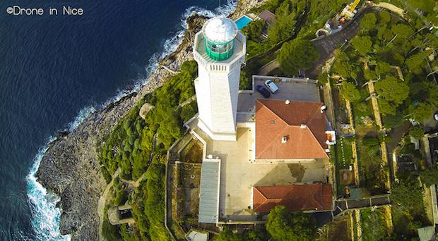 Faro Cap Ferrat DroneInNice vista dron