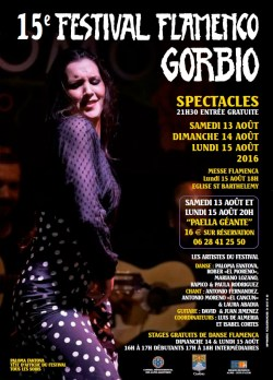 Festival flamenco de Gorbio 2016