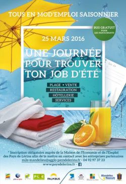 Jornada empleo Mandelieu 2016