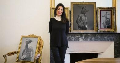 La española Beatriz Moreno, invitada de honor en Mouans-Sartoux