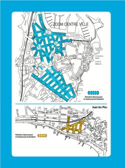 Zonas de residentes y aparcamientos reservados