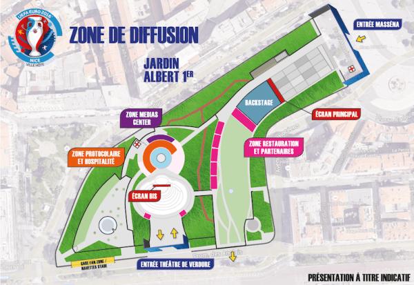 Fan Zone Niza Euro 2016