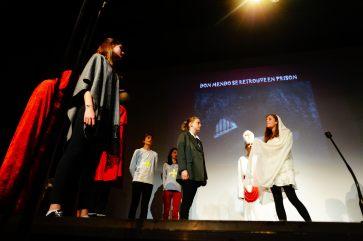 Obra de teatro en la Fiesta de los Reyes