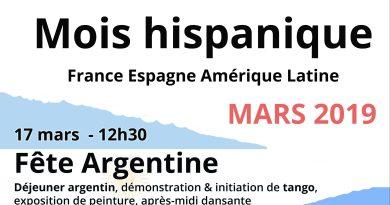 Marzo, el mes hispano de Grasse