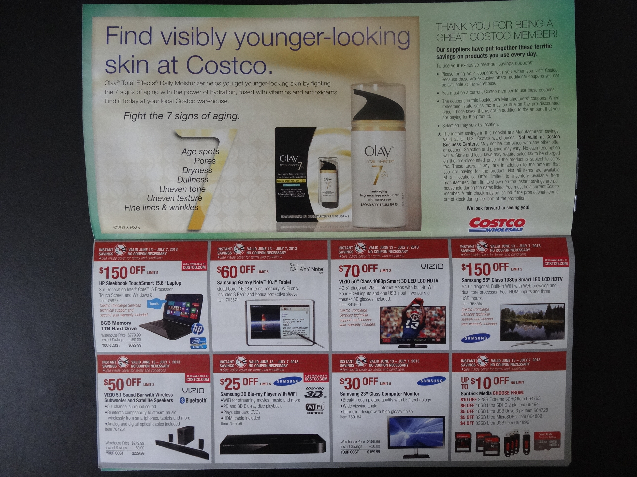 Costco June 2013 Coupon Book 06 13 13 To 07 07 13