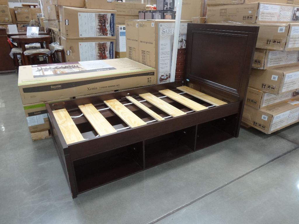 Cafe Kid Lucas Twin Bed With Storage