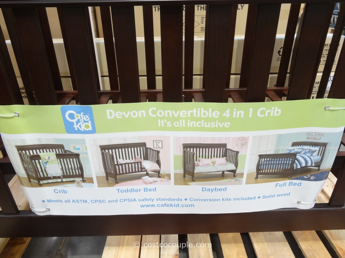 Cafe Kid Devon Convertible 4 In 1 Crib