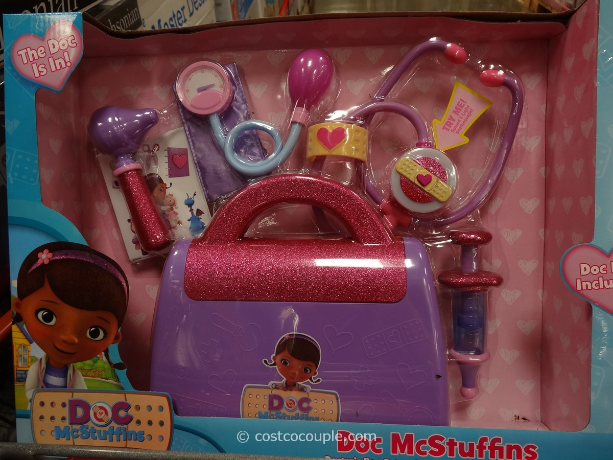 Disney Doc McStuffins Doll And Medical Bag Set