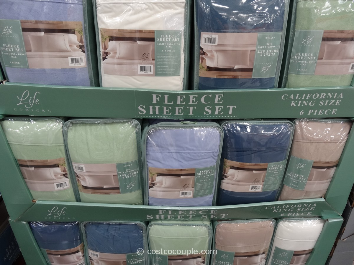 Life Comfort Fleece Sheets