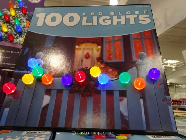 Multi Color LED Globe Lights