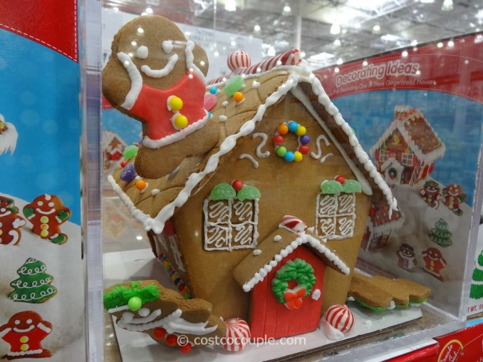 Create A Treat Pre-Built Gingerbread House Kit