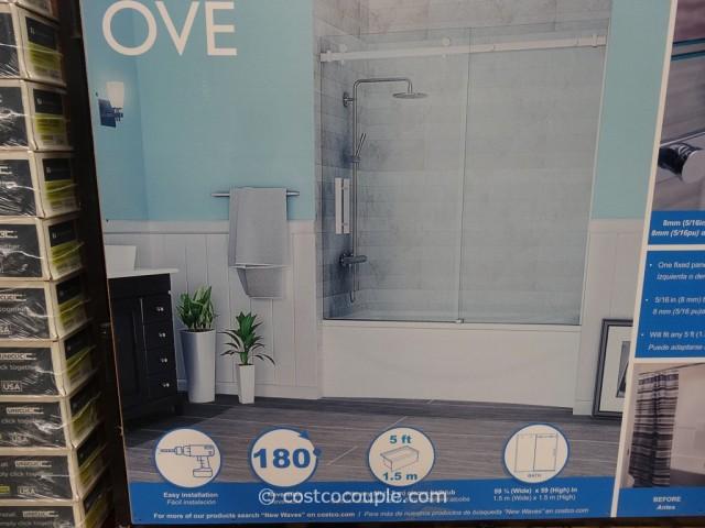 Ove Decors 60 Inch Premium Rolling Tub Door