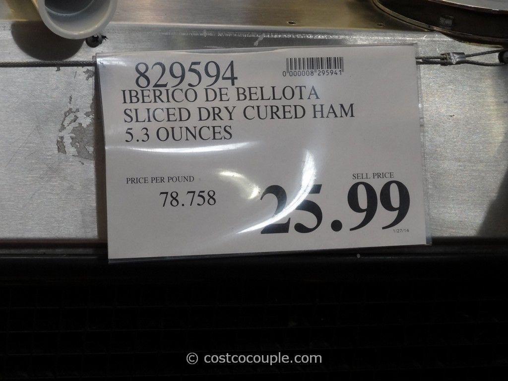 Jamon Iberico De Bellota Sliced Dry Cured Ham