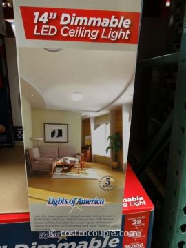 Lights Of America 14 Inch Dimmable LED Ceiling Light Lights Of America 14 Inch Dimmable LED Ceiling Light Costco 4