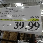 Stylecraft Home Hastings Table Lamps
